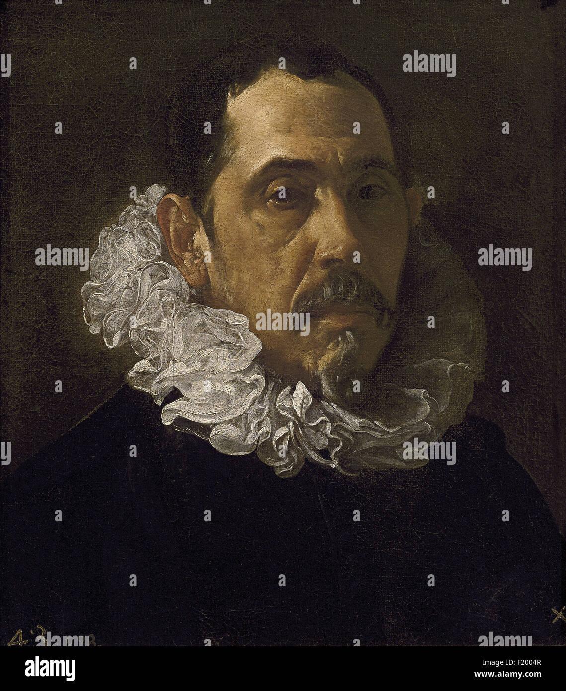 Diego Velázquez - Francisco Pacheco - Stock Image