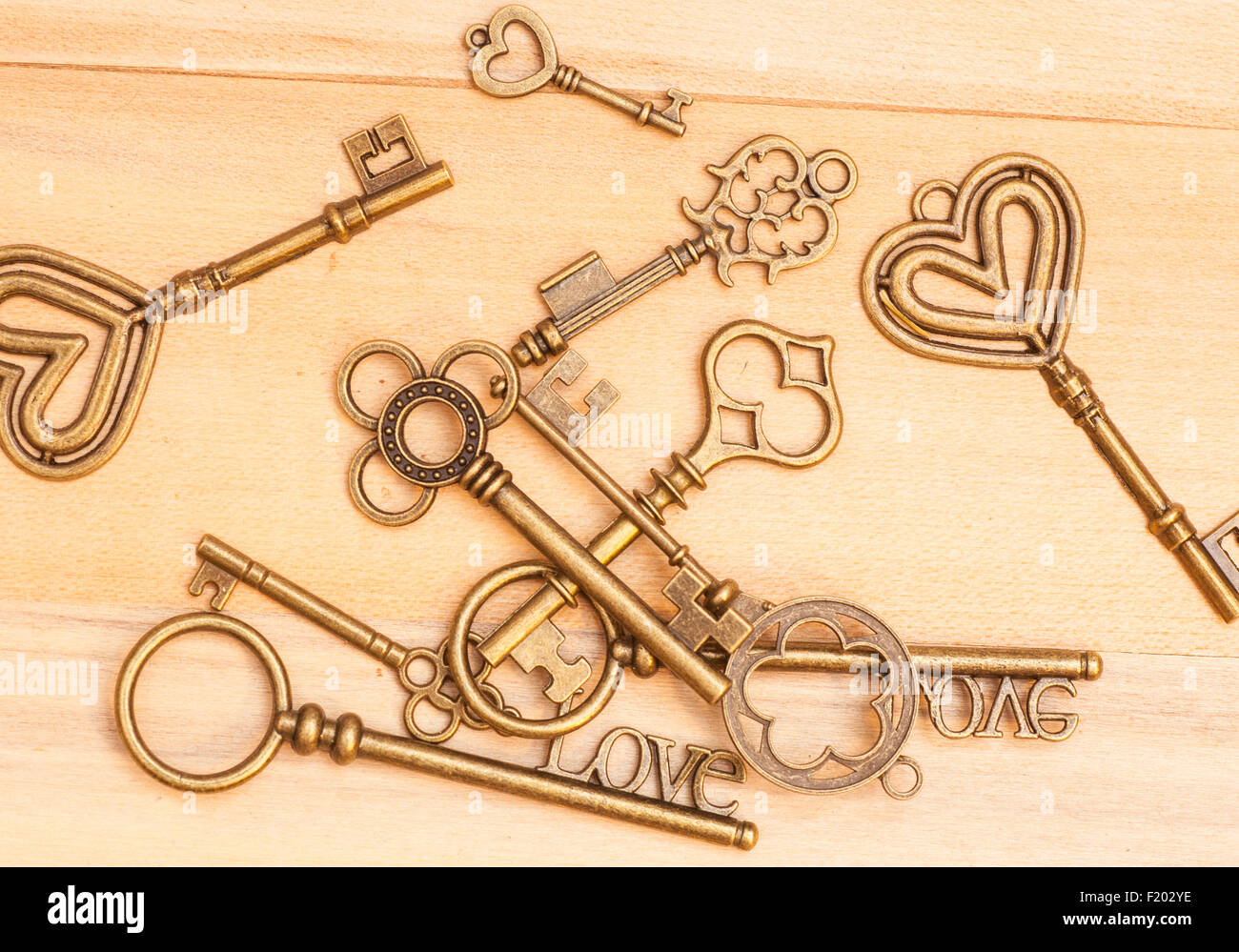 Old Rusted Keys Background Texture Stock Photos & Old Rusted Keys ...