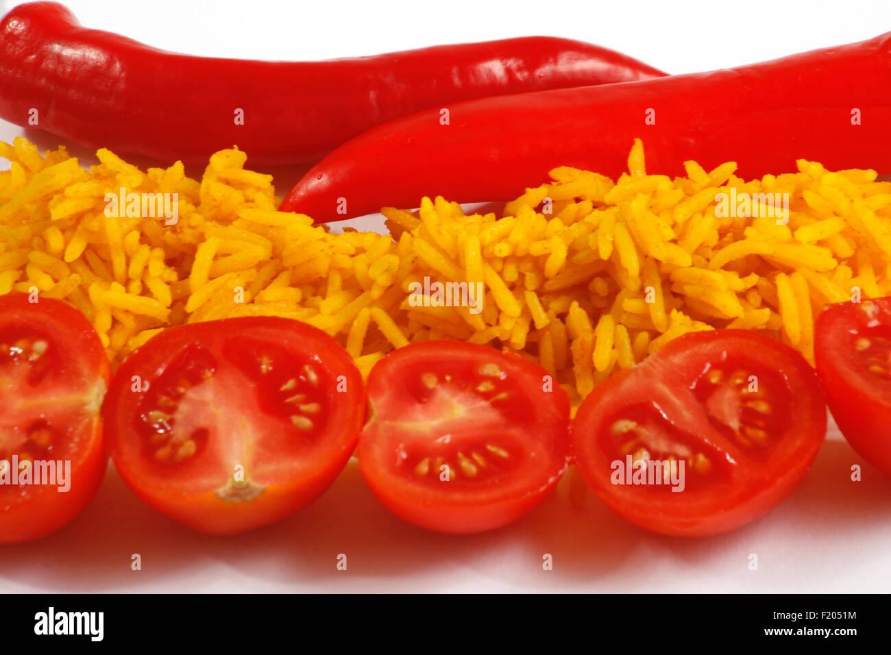 food flag spain stock photo 87285120 alamy
