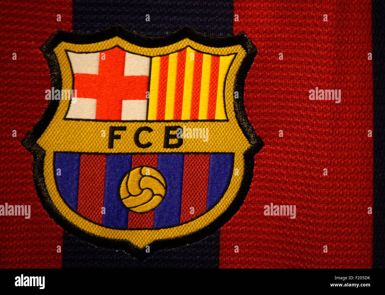Markenname: 'FC Barcelona', Berlin. - Stock Image