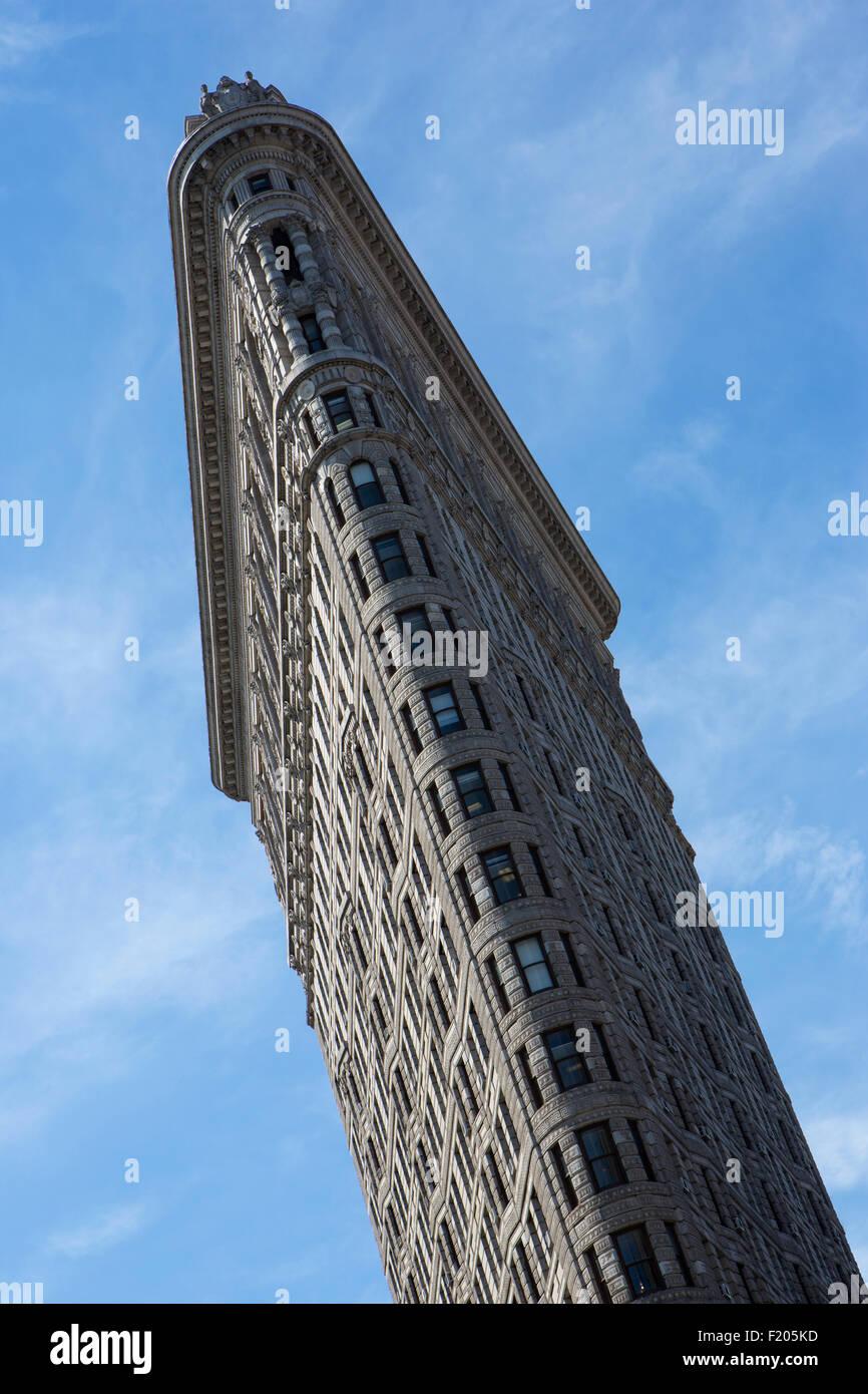 Flat Iron building, New York. - Stock Image