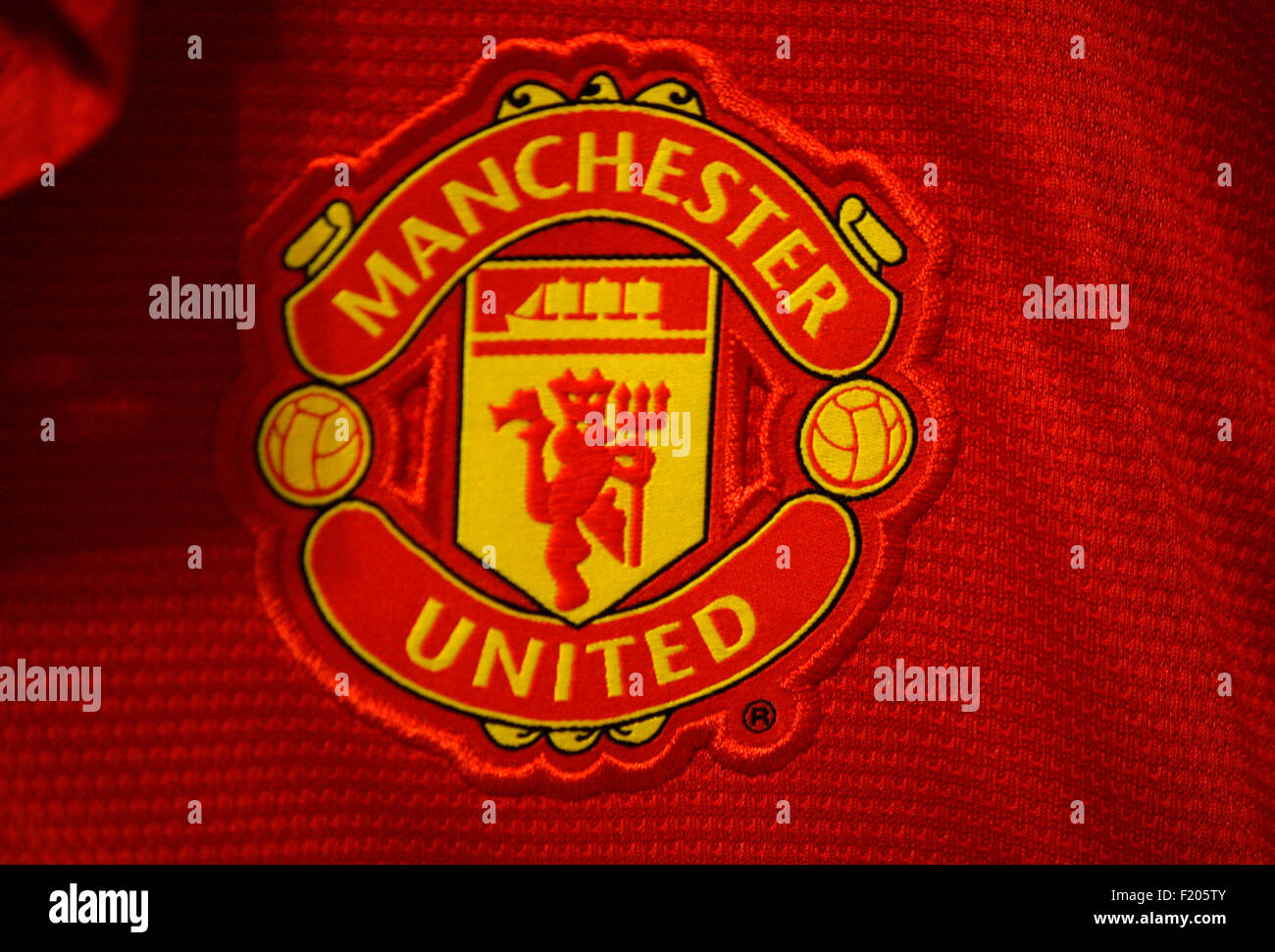 Markenname: 'Manchester United', Berlin. - Stock Image