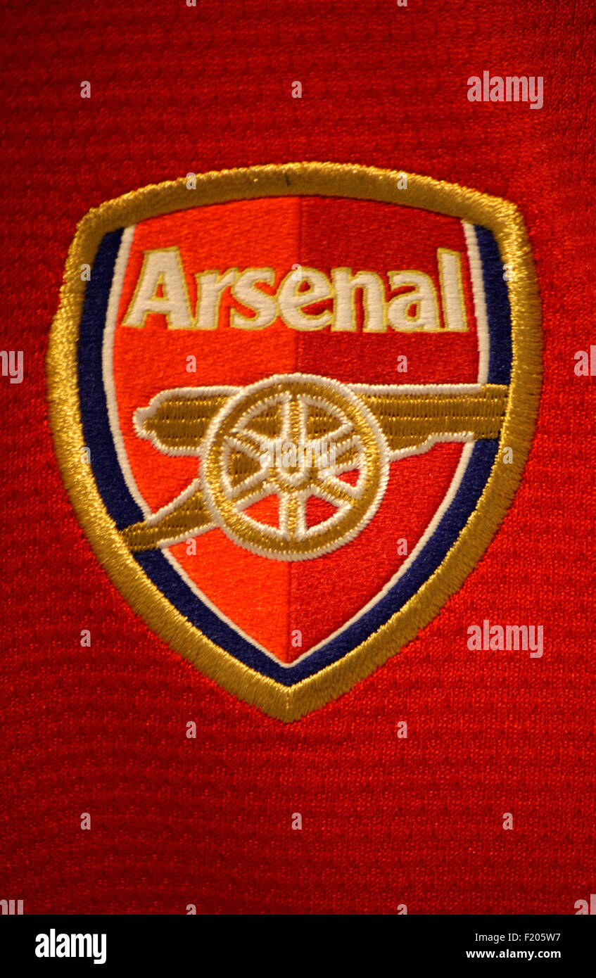 Markenname: 'Arsenal London', Berlin. - Stock Image