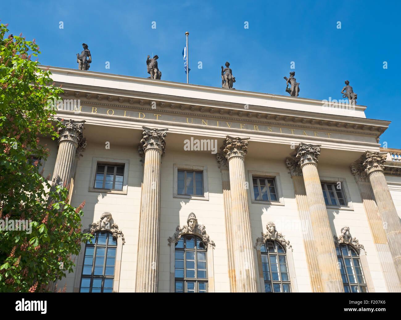 Humboldt Universität Berlin - Stock Image
