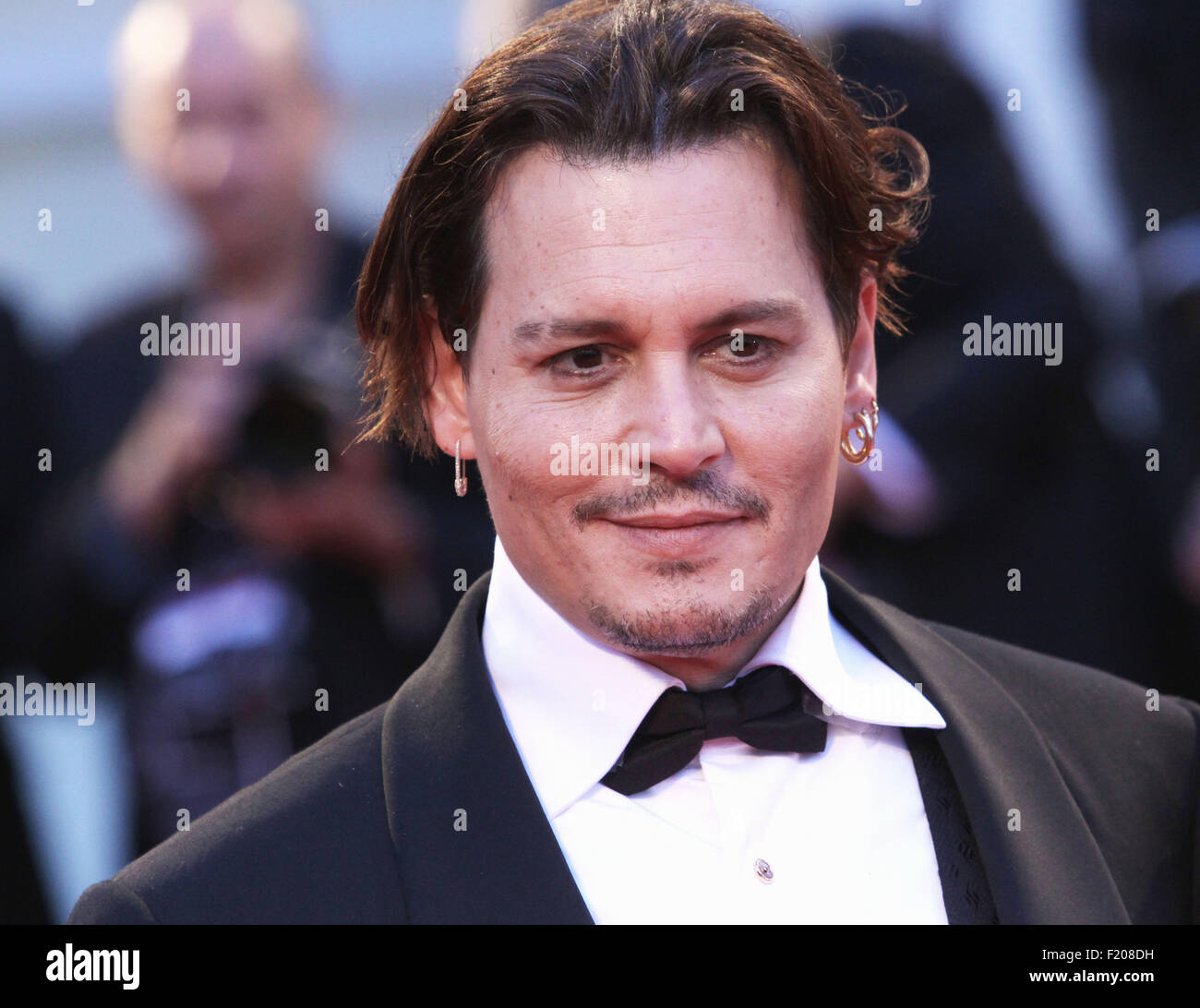Venice, Italy. 4th September, 2015. Actor Johnny Depp at the red carpet of the movie 'The Danish Girl'  - Stock Image