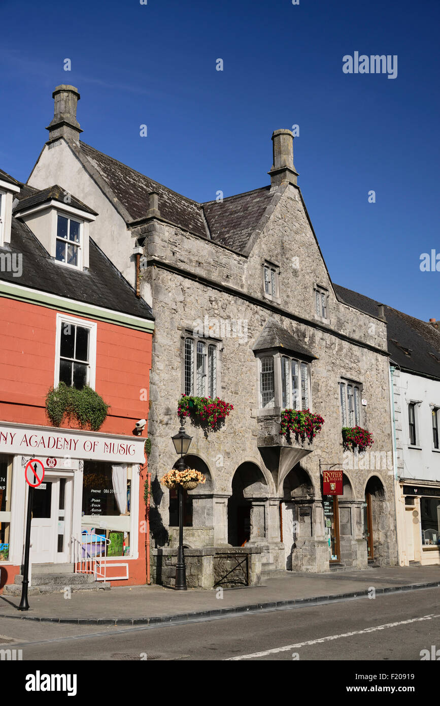 Ireland, County Kilkenny, Kilkenny, Rothe House, 17th Century Merchants House situated in Parliament Street. - Stock Image