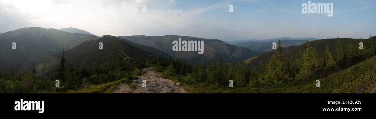 Naturpark Niedere Tatra in der Slowakei Stock Photo