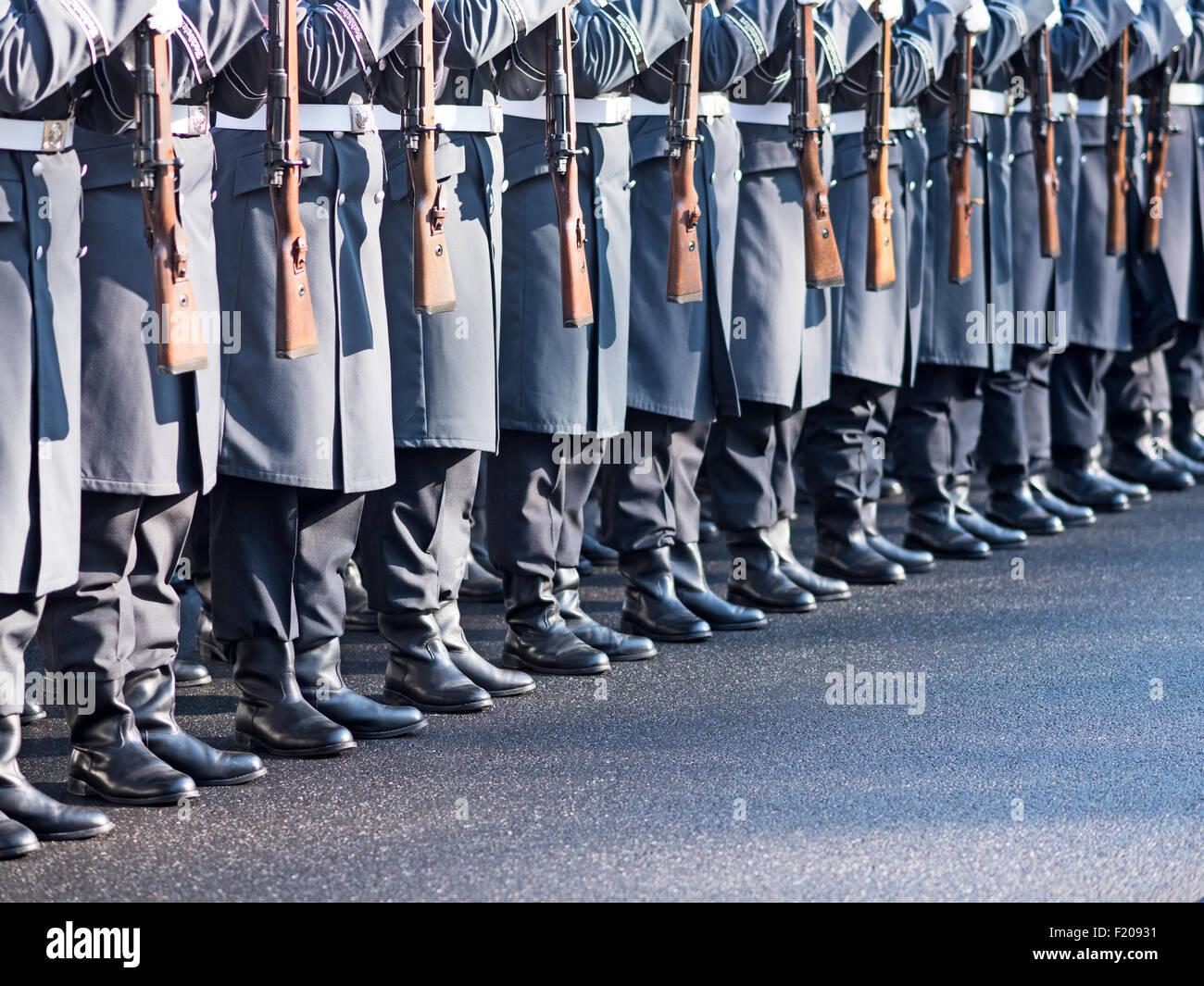 Wachregiment der Bundeswehr - Stock Image