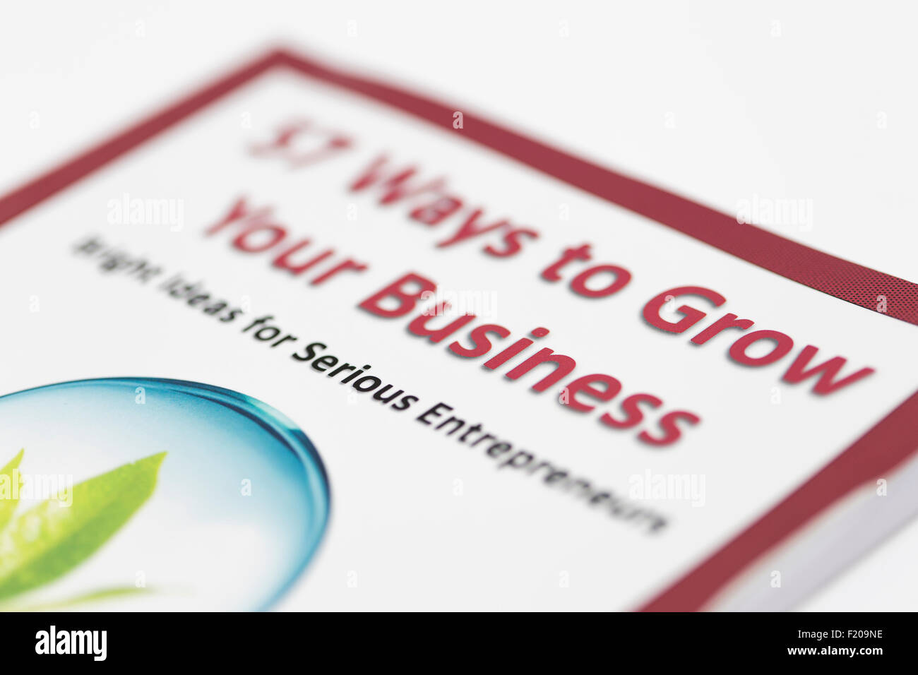 Ways to grow your business - Stock Image