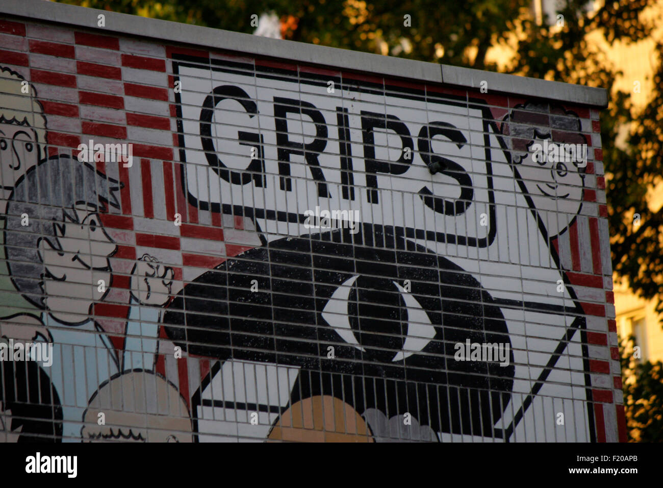 Markenname: 'Grips Theater', Berlin. - Stock Image
