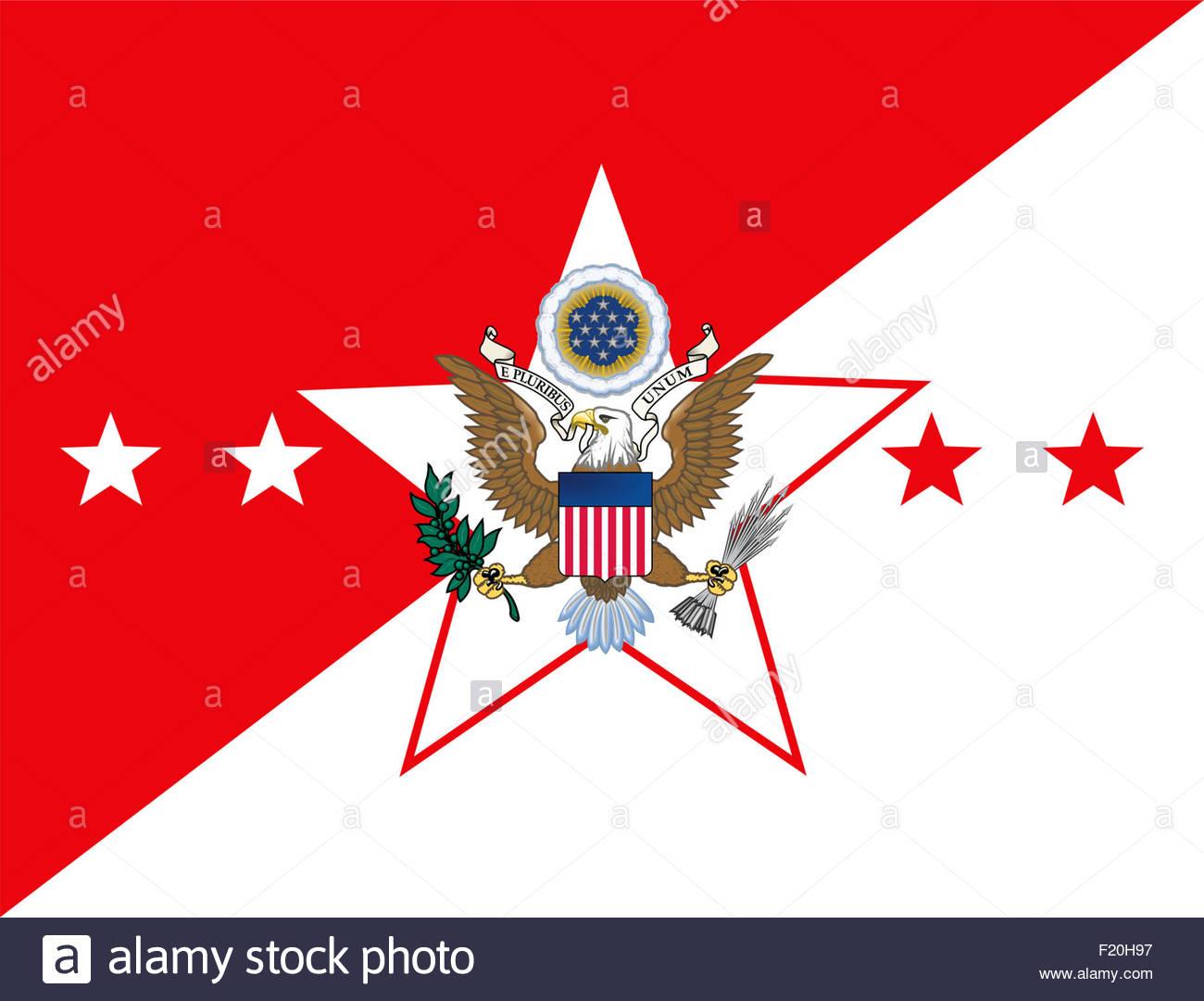 Chief of Staff Army CSA logo icon - Stock Image