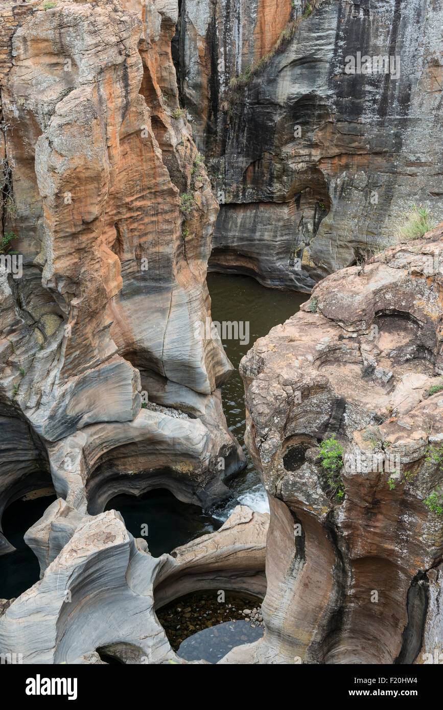 Bourkes Luck Potholes, South Africa - Stock Image