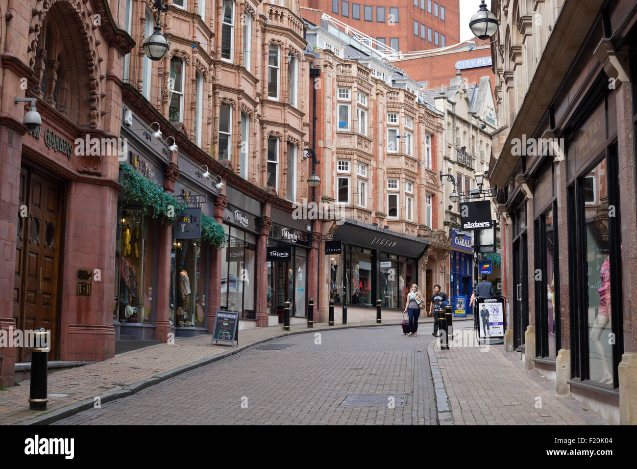Cannon Street, Birmingham, West Midlands, England, United Kingdom, Europe - Stock Image