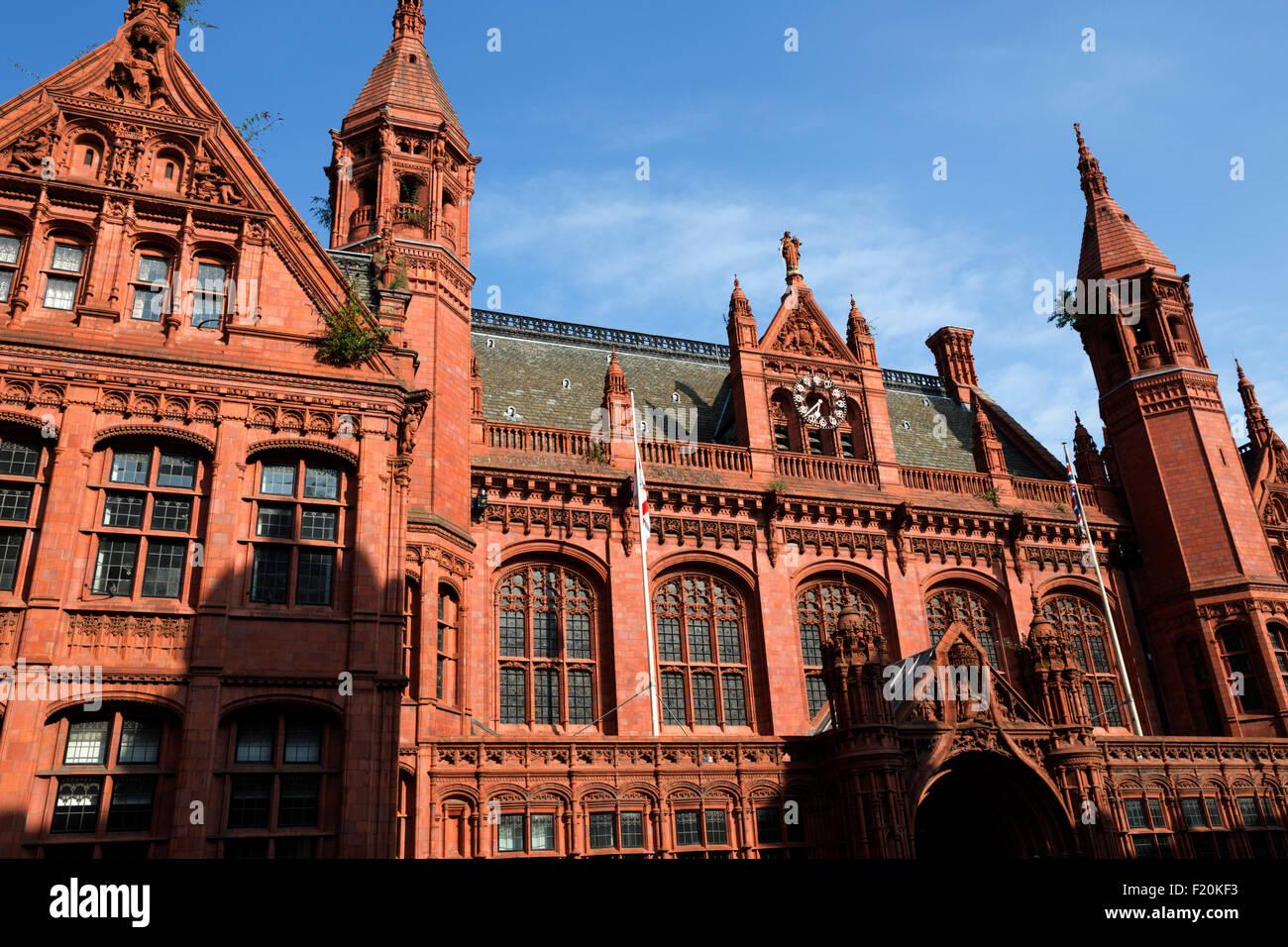 Victoria Law Courts, Corporation Street, Birmingham, West Midlands, England, United Kingdom, Europe - Stock Image