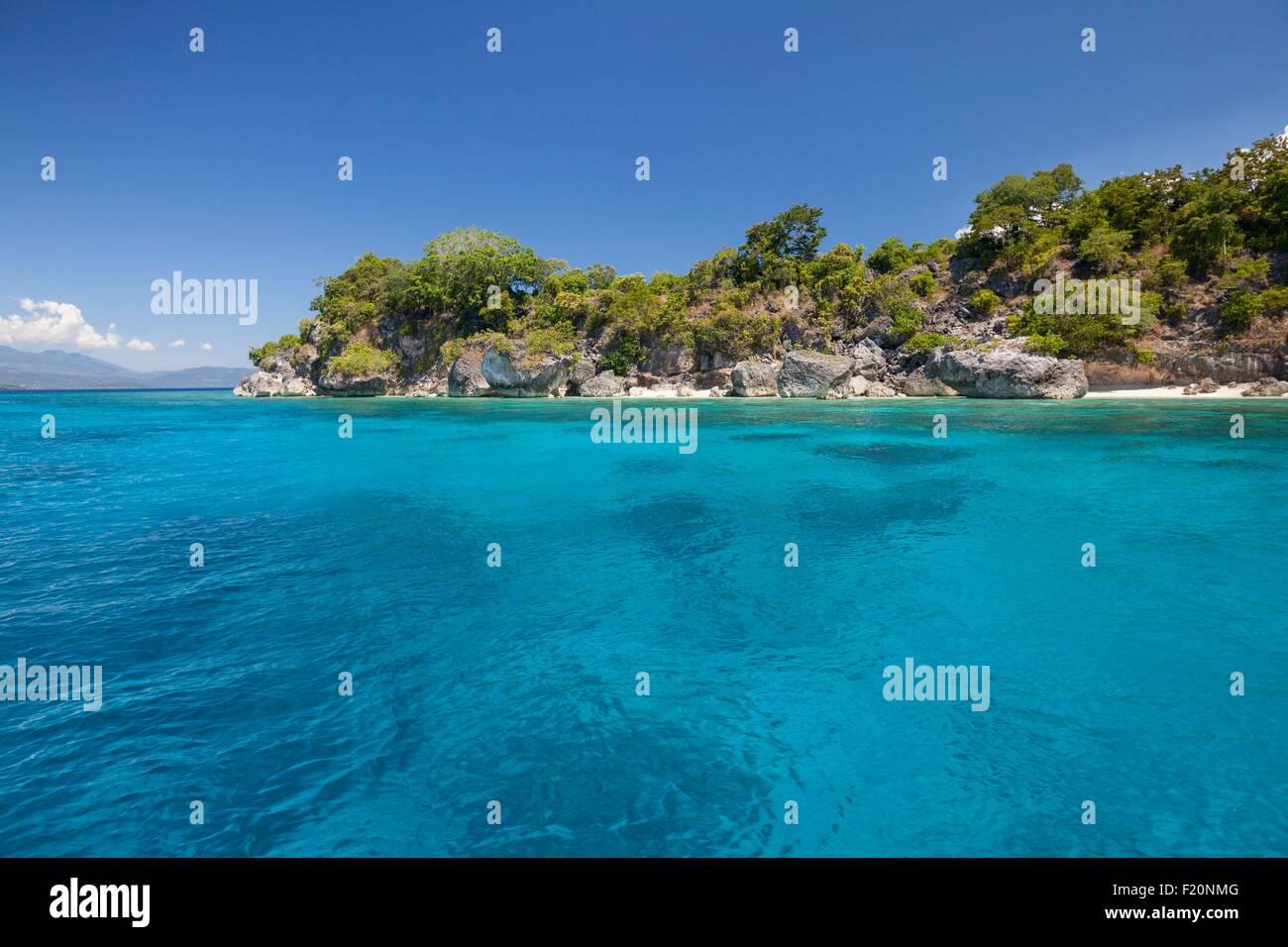 Indonesia, Lesser Sunda Islands, Alor archipelago, Buaya Island - Stock Image