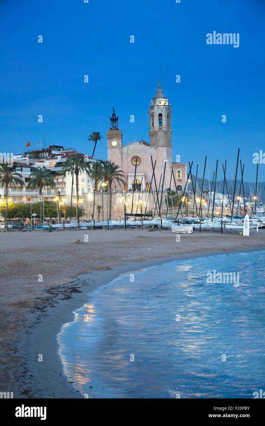 Spain, Catalonia, Barcelona province, Sitges - Stock Image