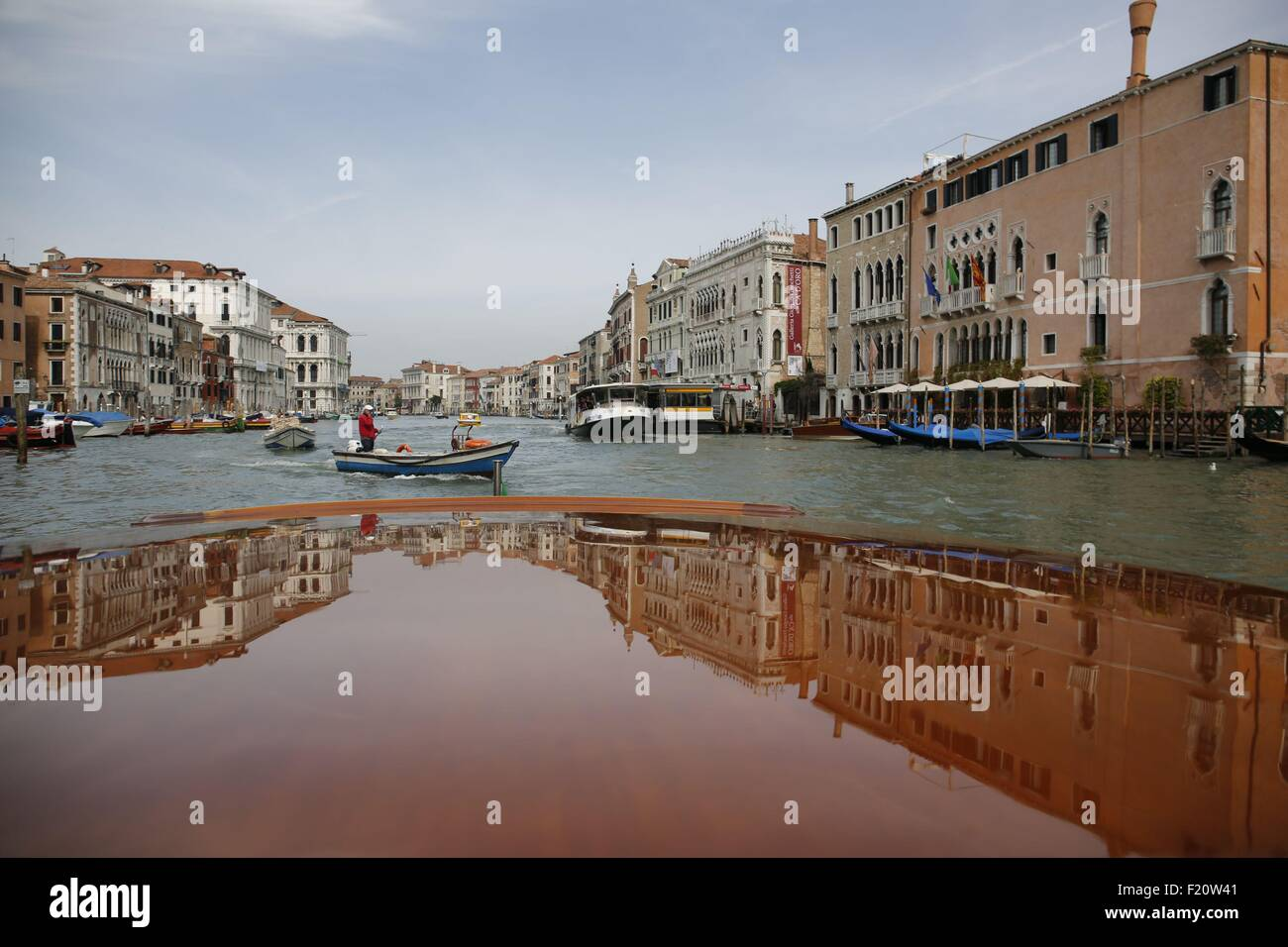 Italy, Venice, art exhibitions during the Biennale 2015 - Stock Image