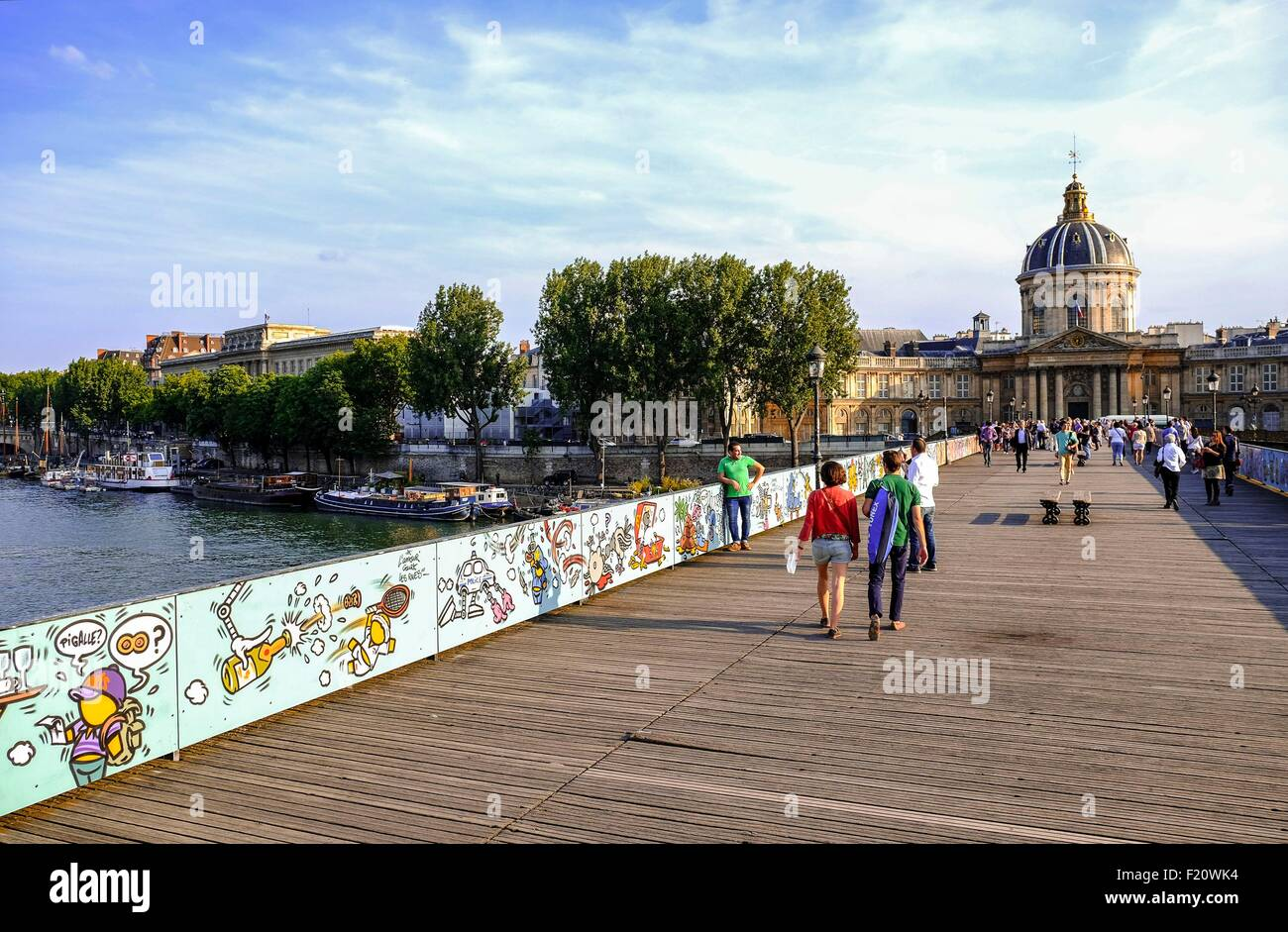France, Paris, area listed as World Heritage by UNESCO, the Stock ...