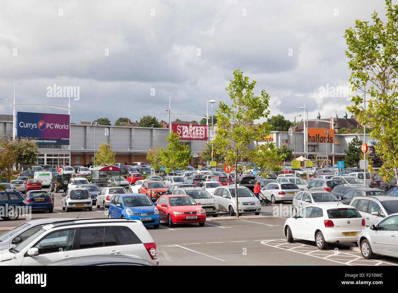 Out Of Town Retail Park Stock Photos Out Of Town Retail Park Stock