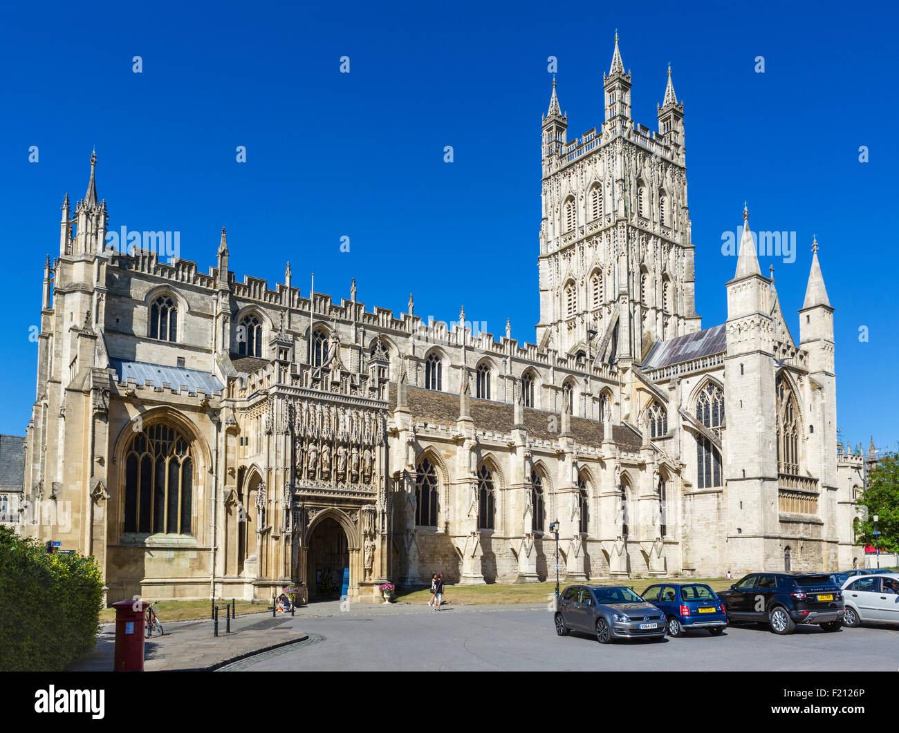 Gloucester Cathedral, Gloucester, Gloucestershire, England, UK - Stock Image