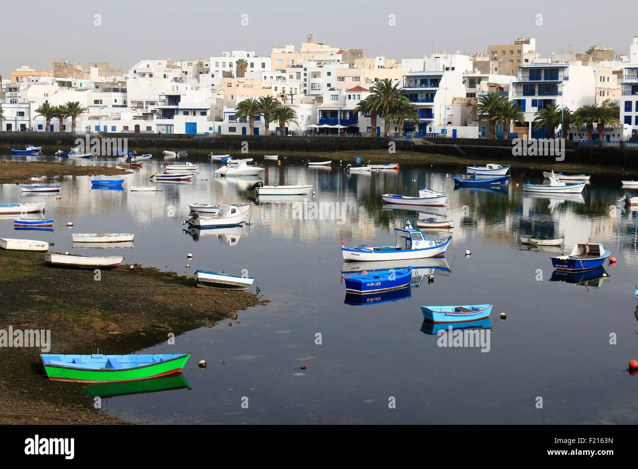 Spain, Canaries Islands, Lanzarote island, Arrecife - Stock Image