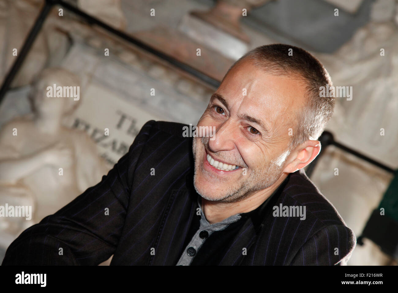 People, Famous, Celebrity chef Michel Roux Junior. - Stock Image