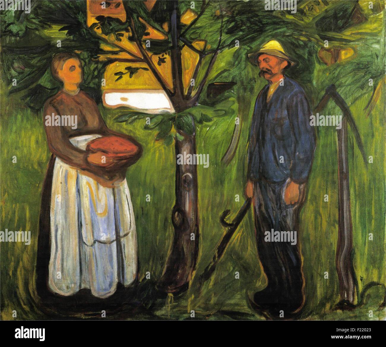 Edvard Munch - Fertility II - Stock Image