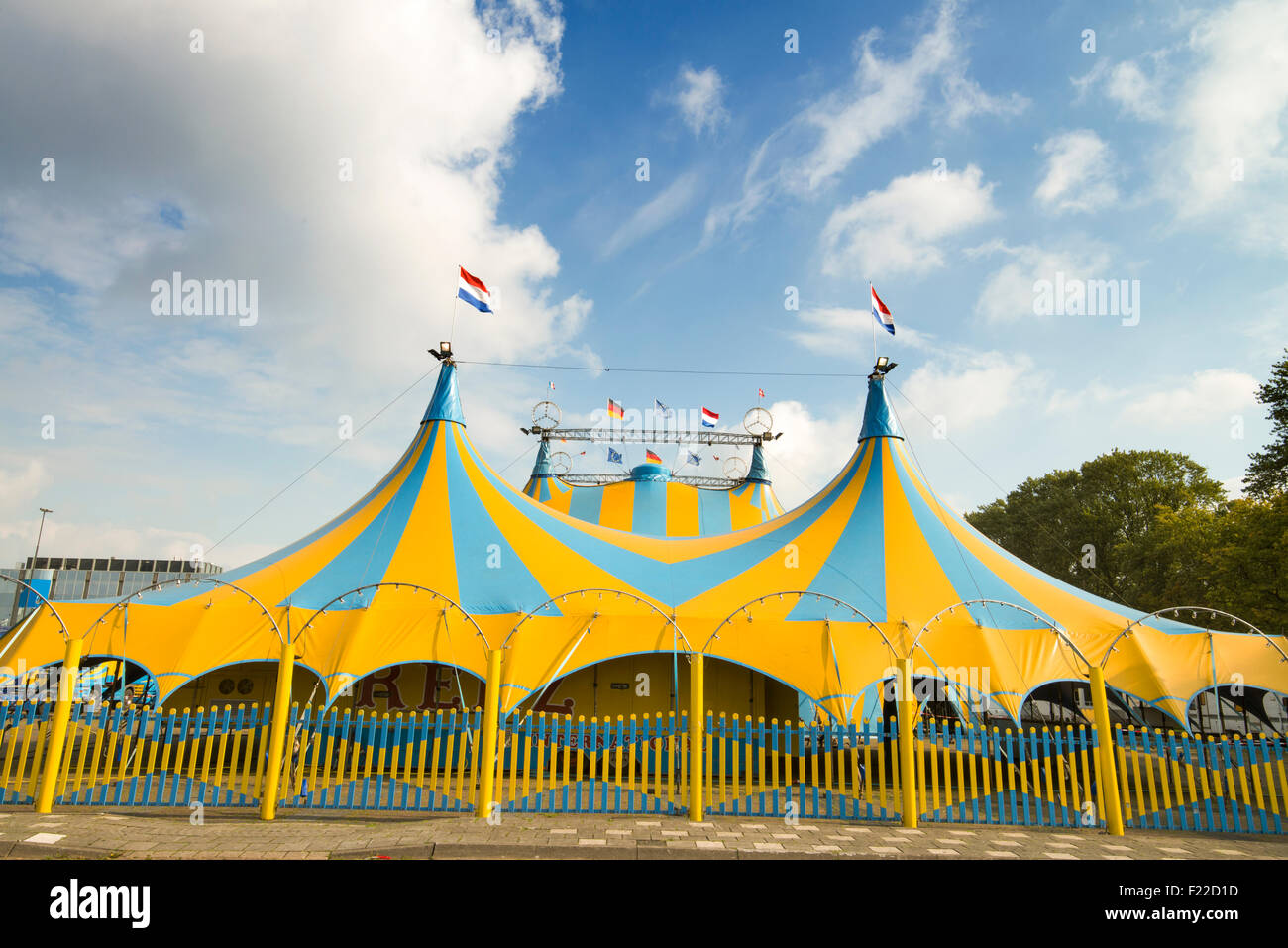 circus in town - Stock Image