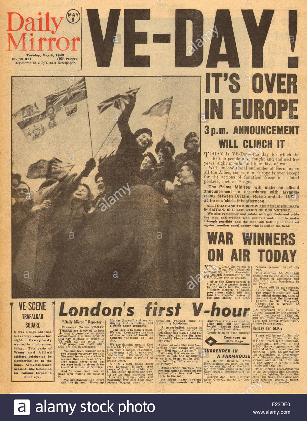 Image result for VE day 1945 images