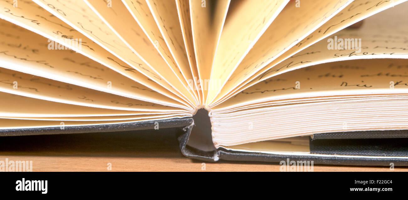 Notizbuch Detail - Stock Image