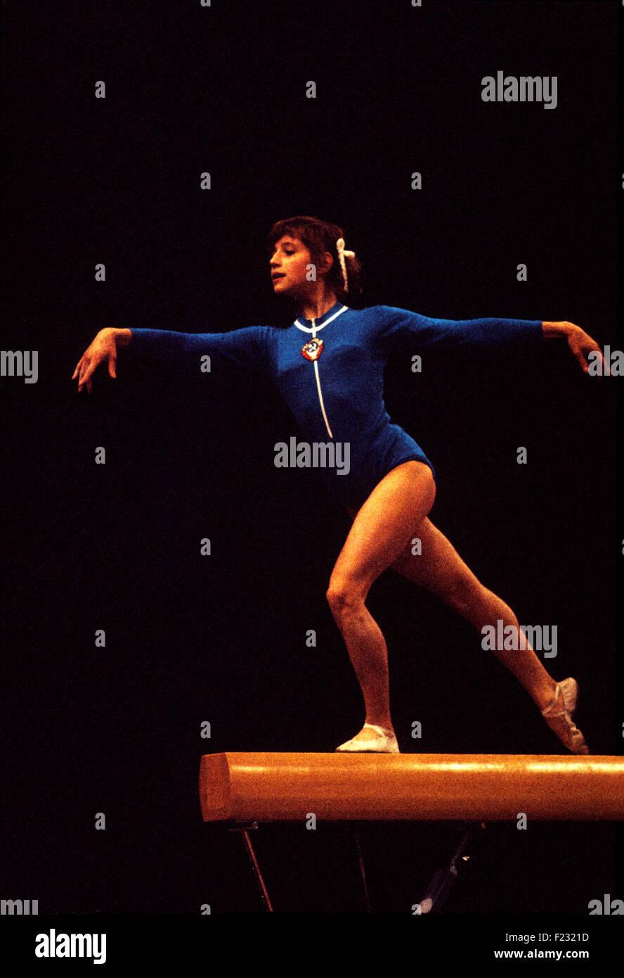 Watch Olga Korbut 6 Olympic medals video