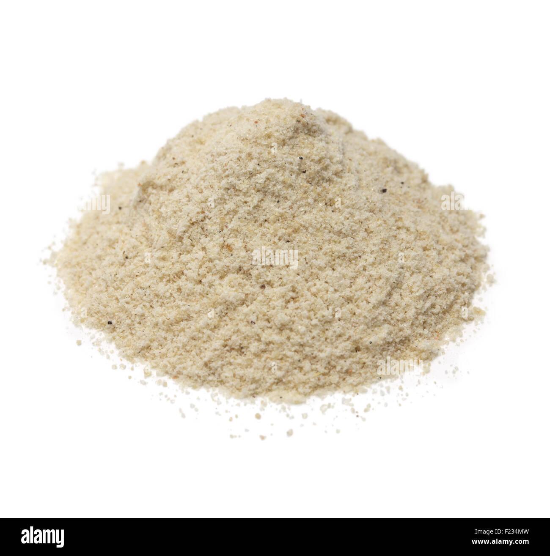 pile of asafoetida hing powder, indian cuisine spice - Stock Image