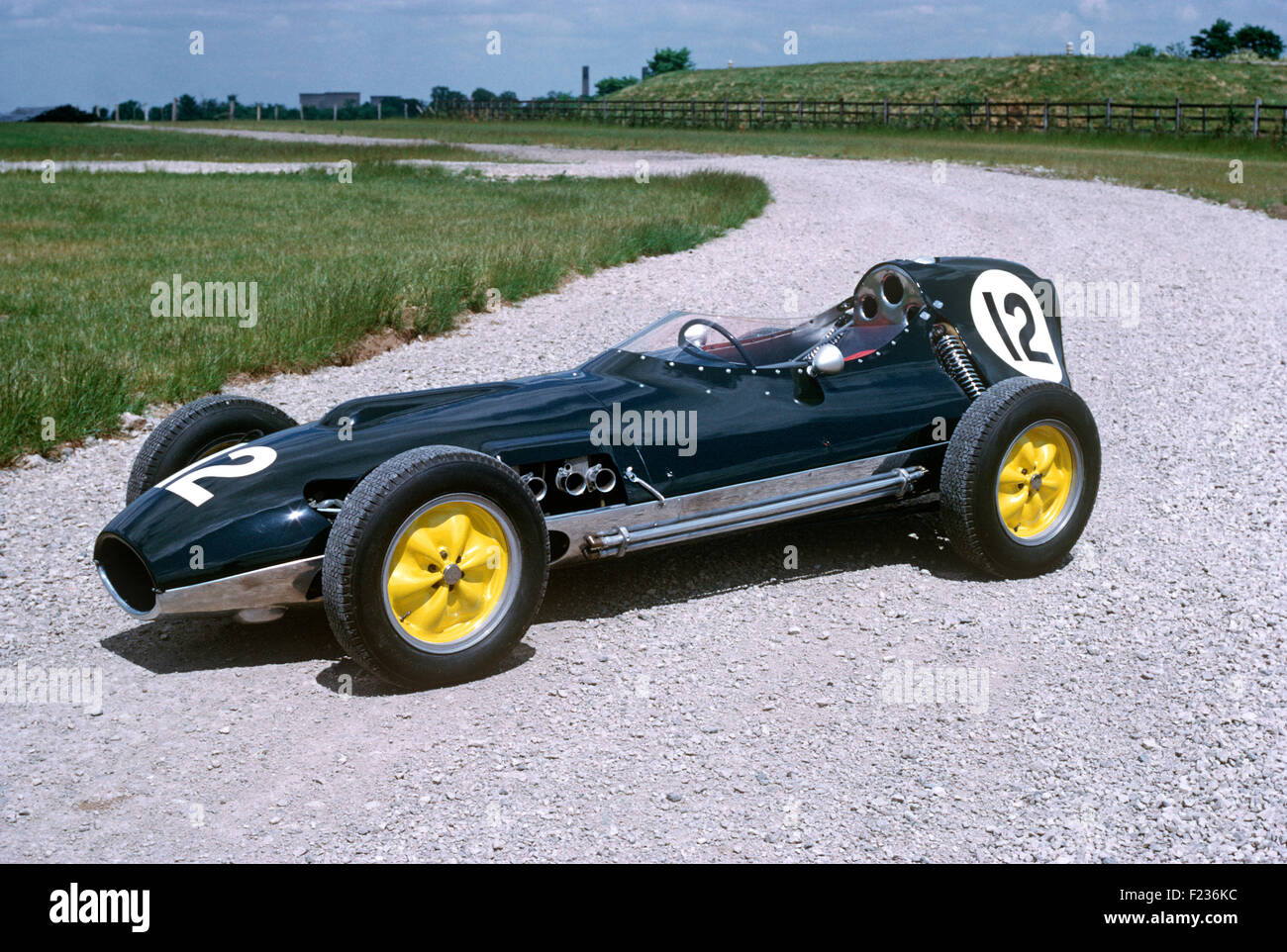SALON PHOTO DONINGTON COLLECTION 1958-59 Lotus-Climax Type 16 - Stock Image