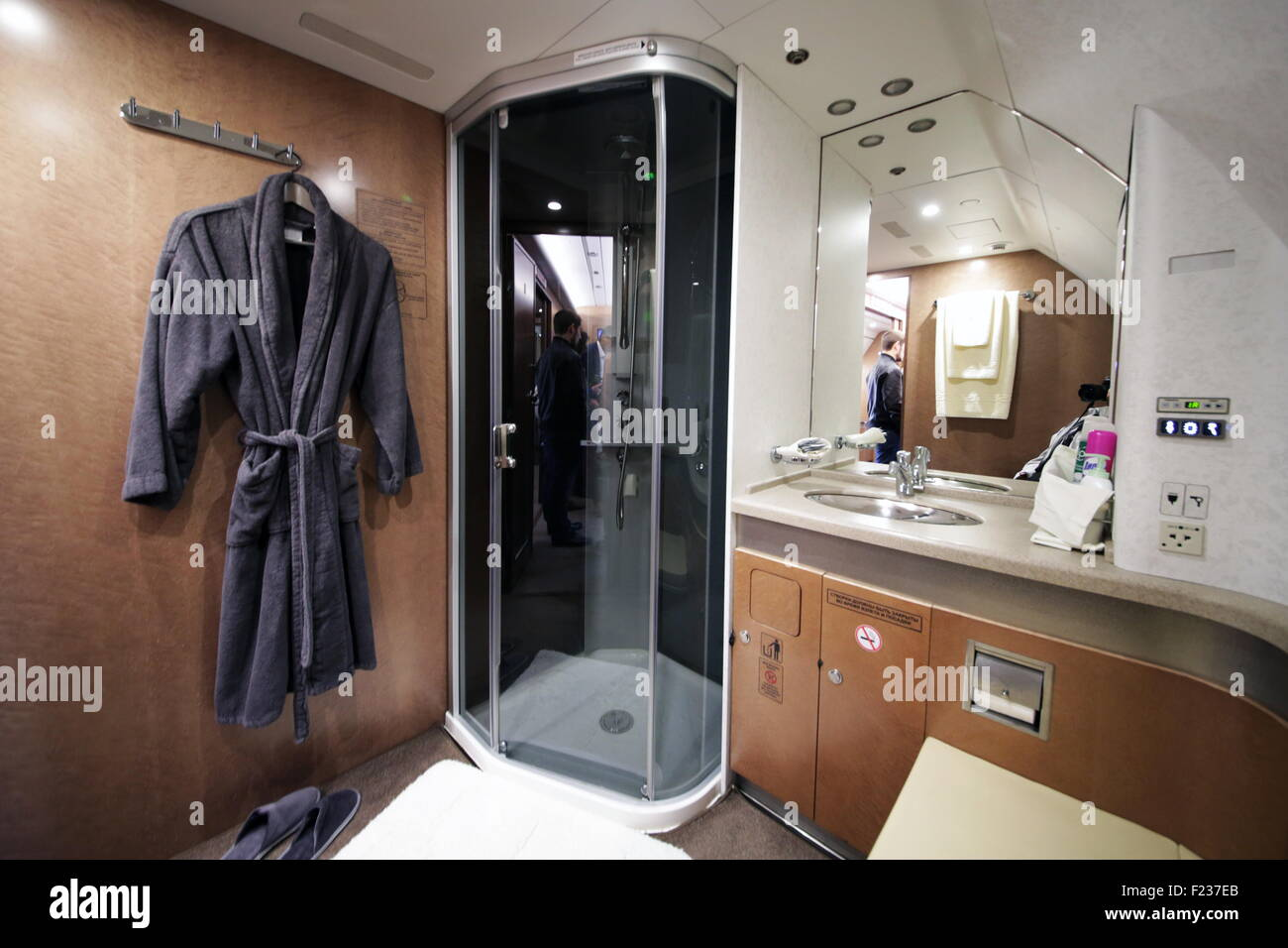 Exhibition Booth En Francais : Moscow russia th sep a shower booth in tu