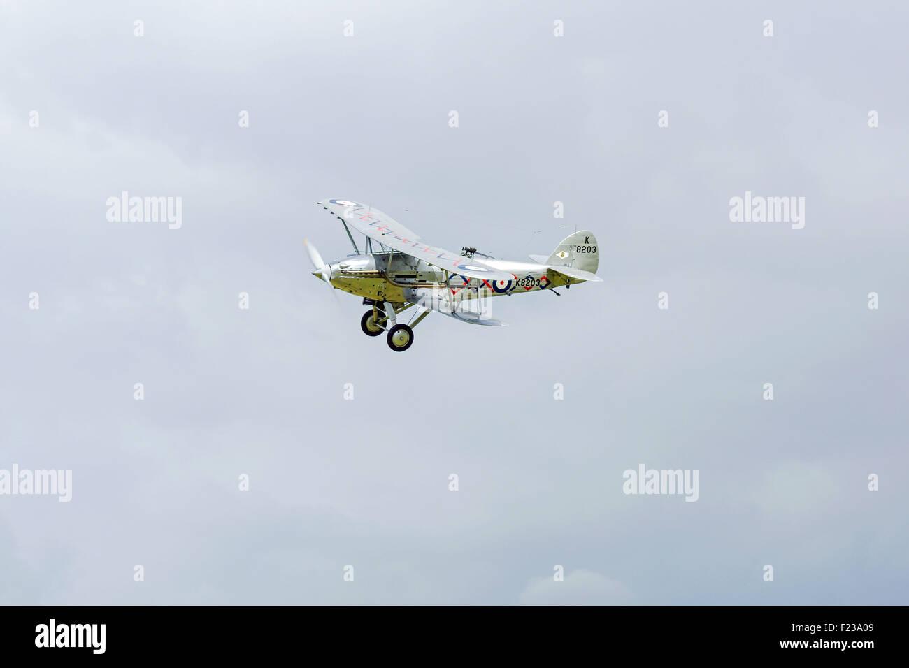 HawkerHind light bomber, inter war years - Stock Image