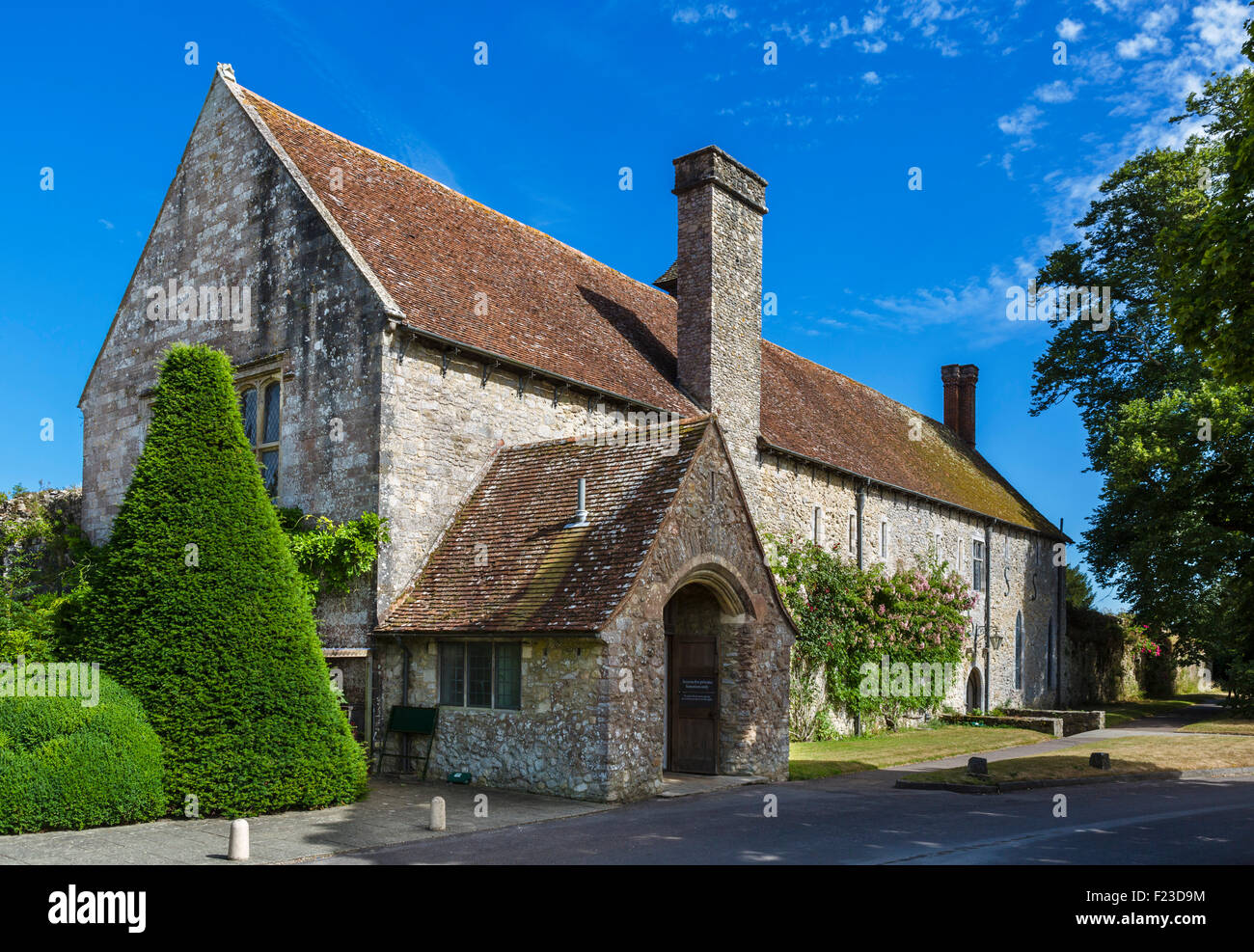 The Domus (lay brothers' dormitory), Beaulieu Abbey, Beaulieu, Hampshire, England, UK - Stock Image