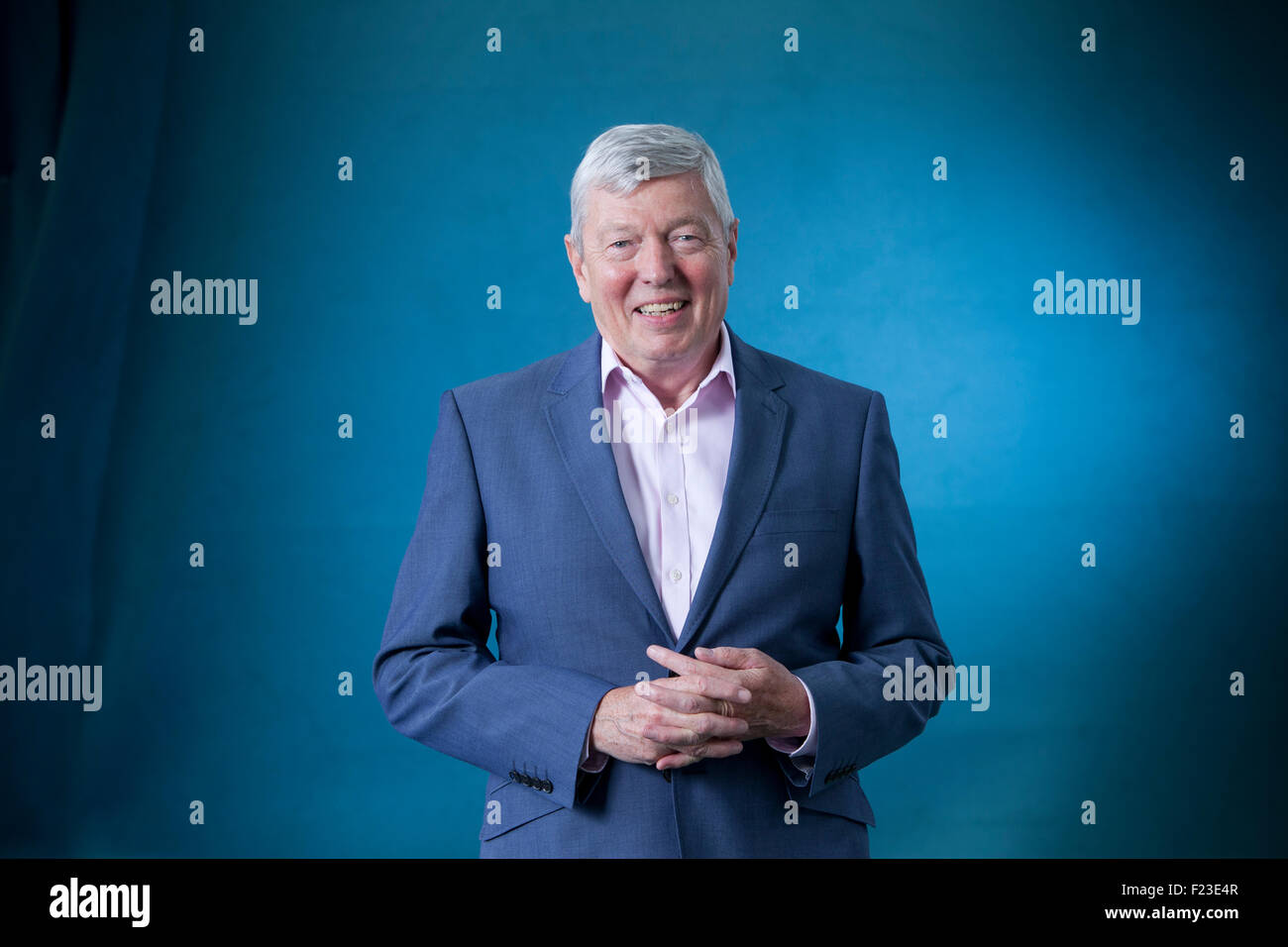 Alan Johnson, British Labour Party politician and writer, at the Edinburgh International Book Festival 2015. Edinburgh, - Stock Image