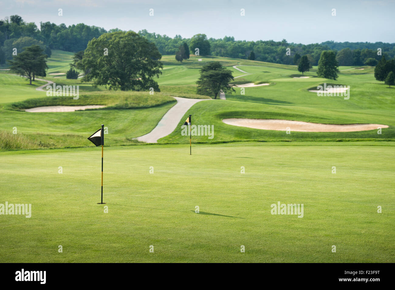 Hagan golf course, French Lick, IN, USA - Stock Image