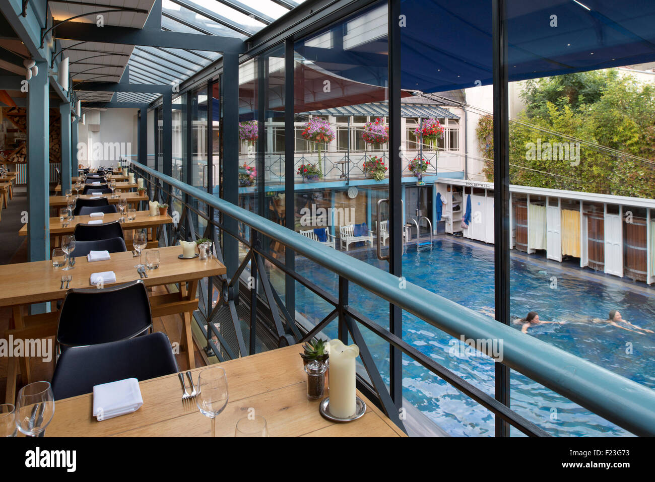 The Lido Spa Restaurant Clifton Bristol Which Includes
