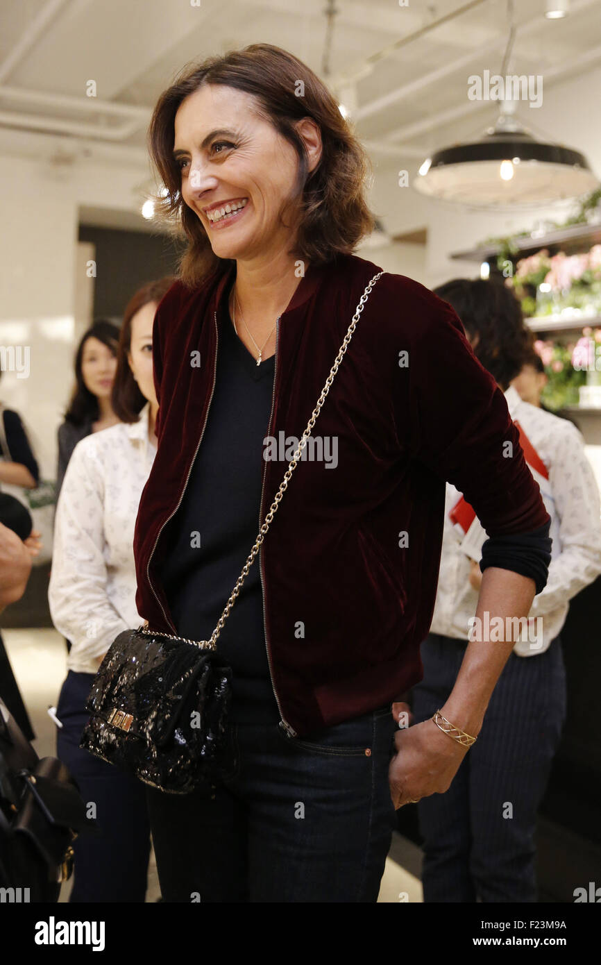 French fashion designer and former model Ines de la ...