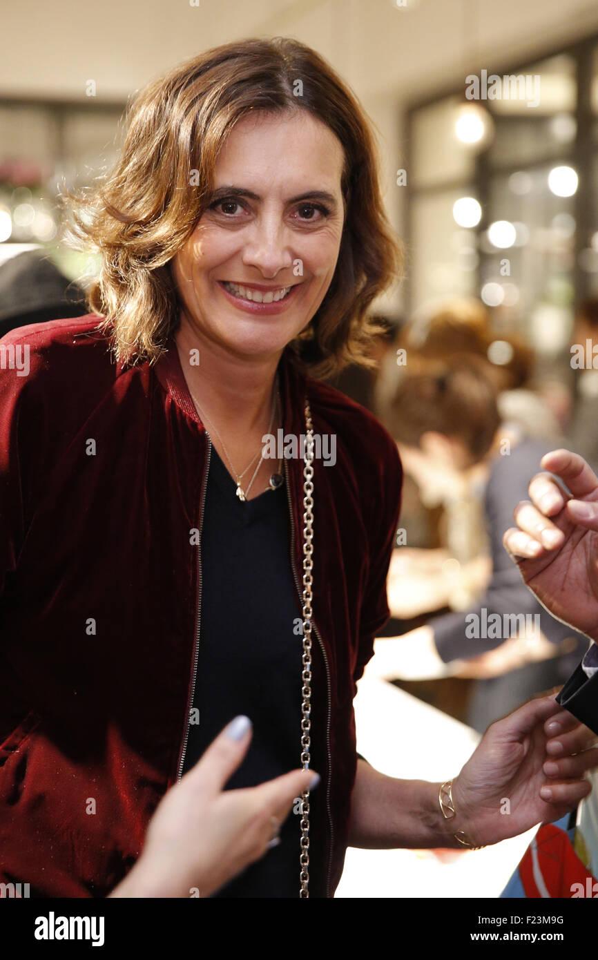 French Fashion Designer Model Ines Stock Photos French Fashion