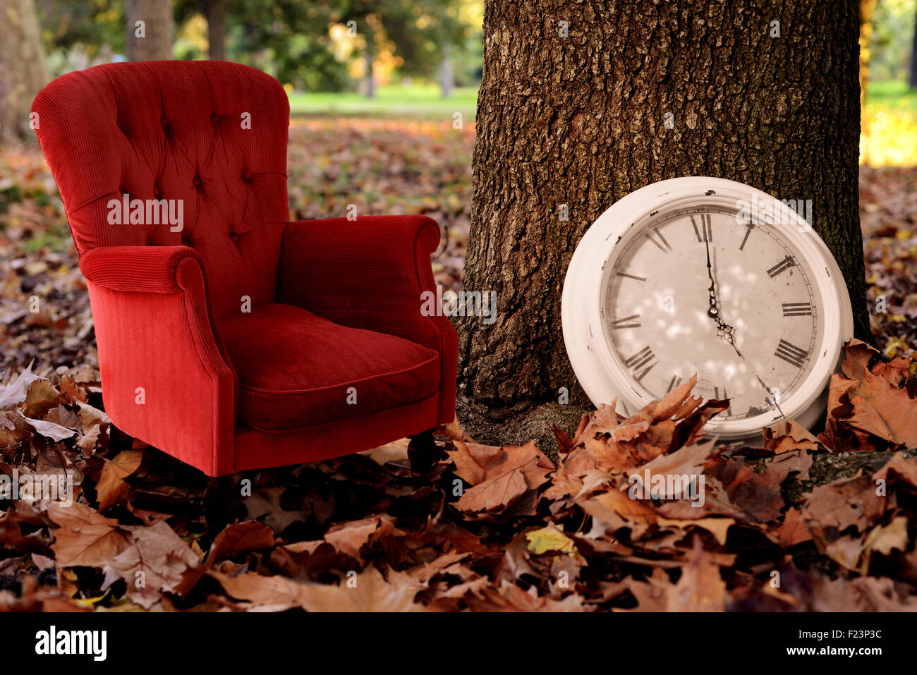 Pleasing Relax Is Fall Time Concept Vintage Background Tell A Autumn Machost Co Dining Chair Design Ideas Machostcouk