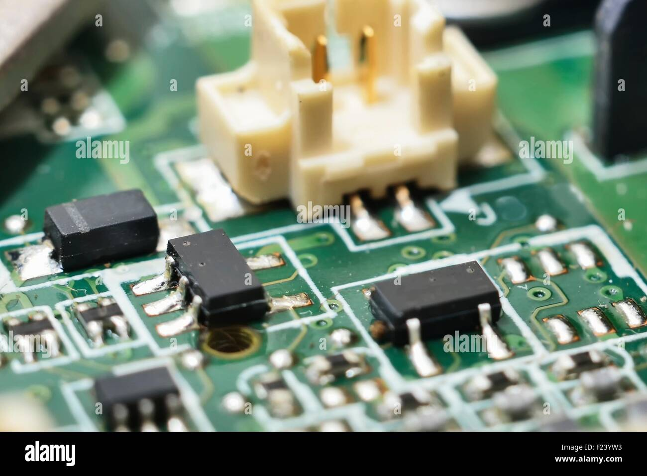 Printed Circuit Board Assembly Stock Photos Stockfoto Pcb Used In Industrial Electronic Manufacturing Image