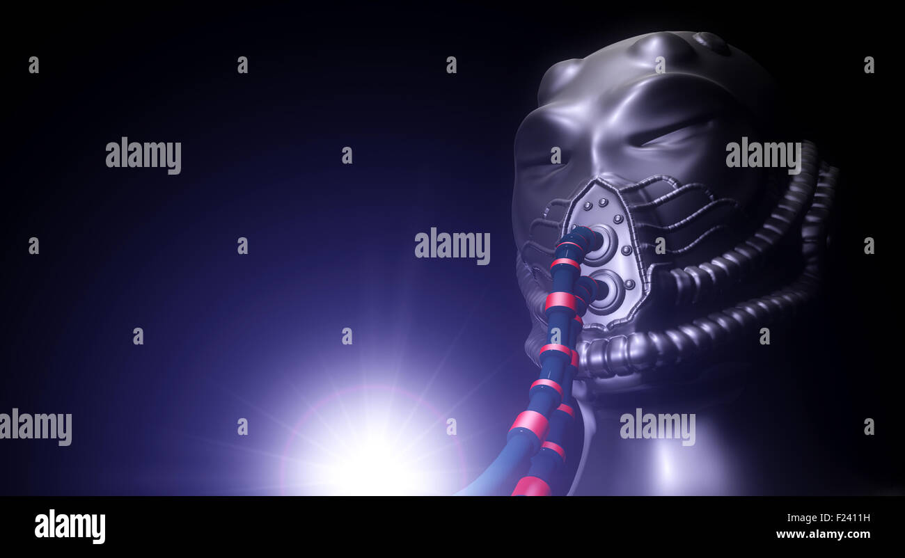 X files alien - Stock Image