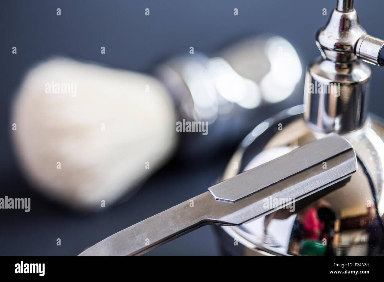 razor on vaporizer - Stock Image