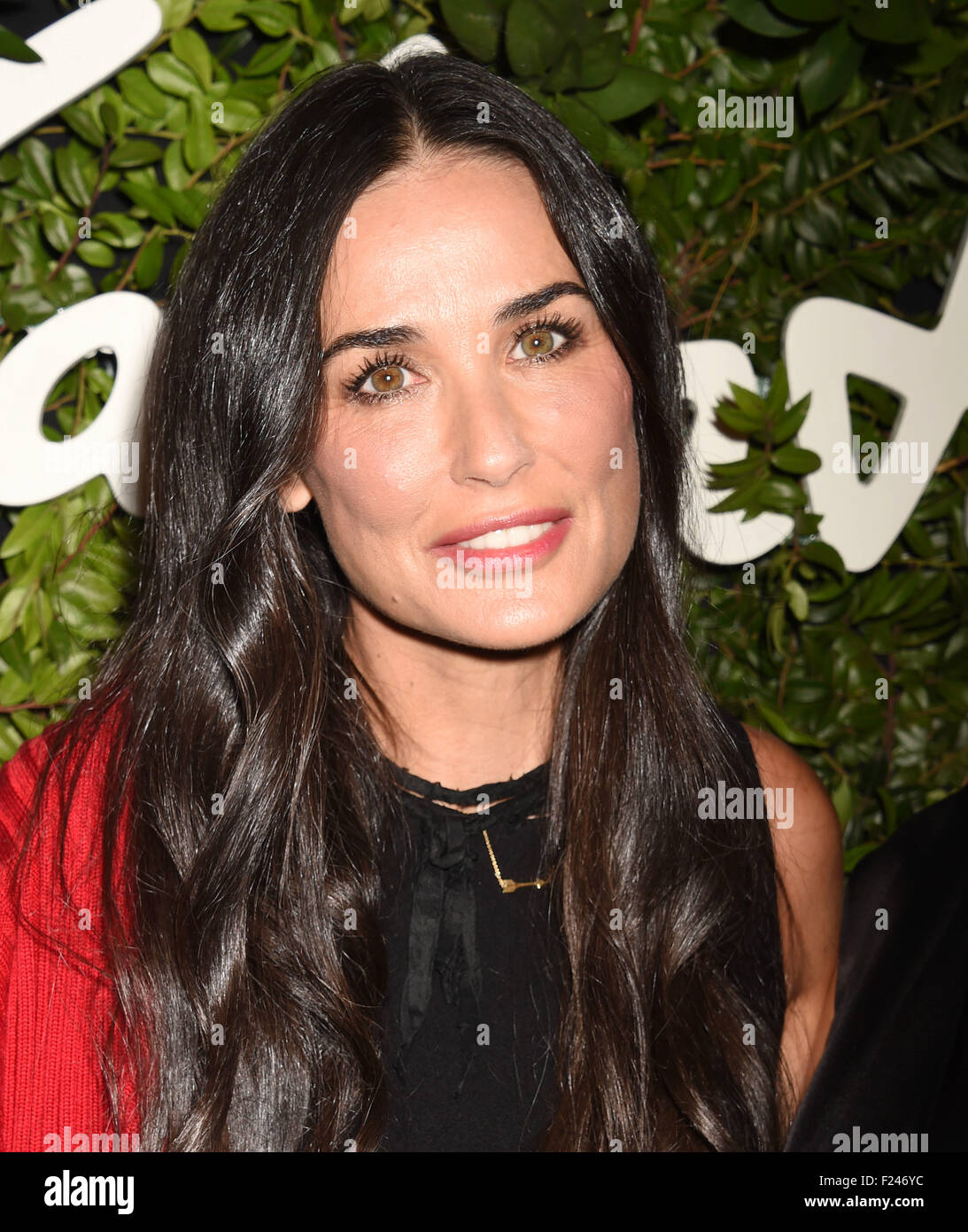 DEMI MOORE US film actress in September 2015. Photo Jeffrey Mayer Stock Photo