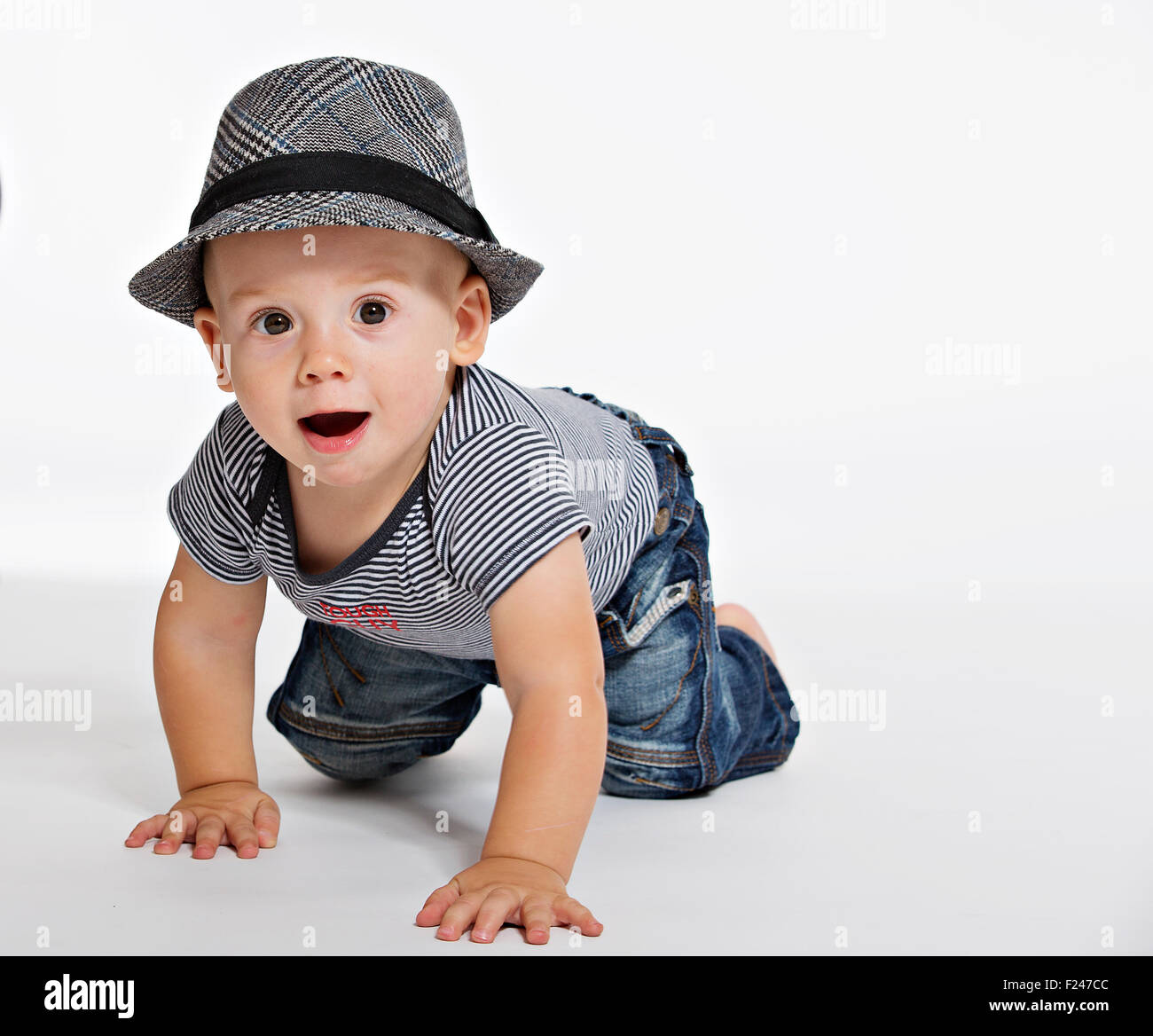 7c9af686e 1-year-old child, one year, 1st year, hat Stock Photo: 87374796 - Alamy