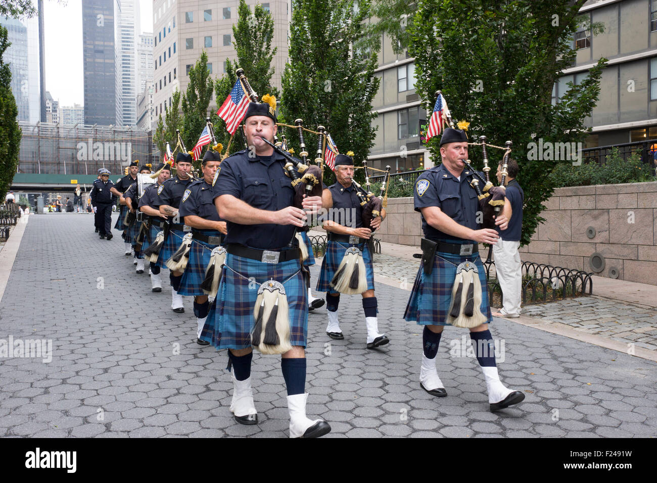 Police Marching Band Stock Photos & Police Marching Band Stock