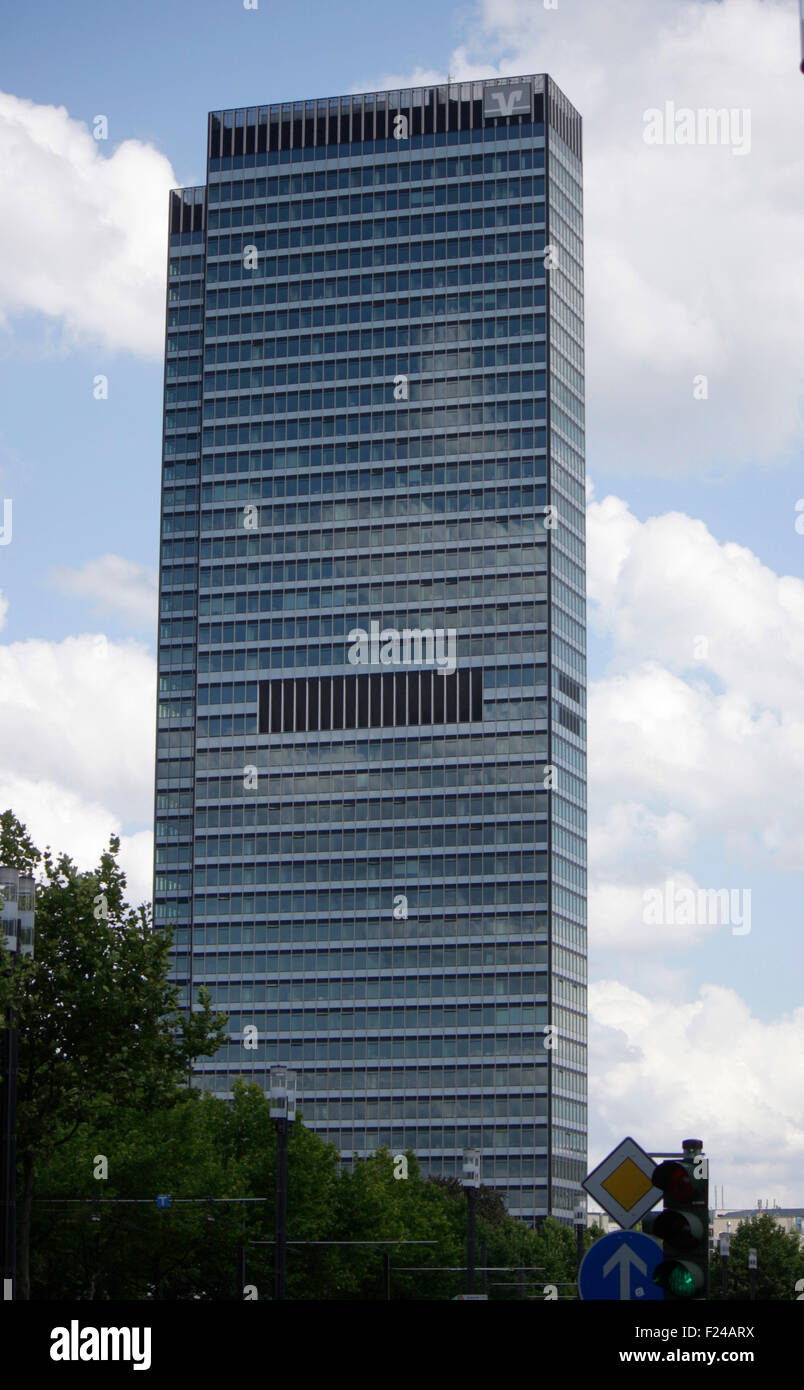City Hochhaus, Frankfurt am Main. - Stock Image