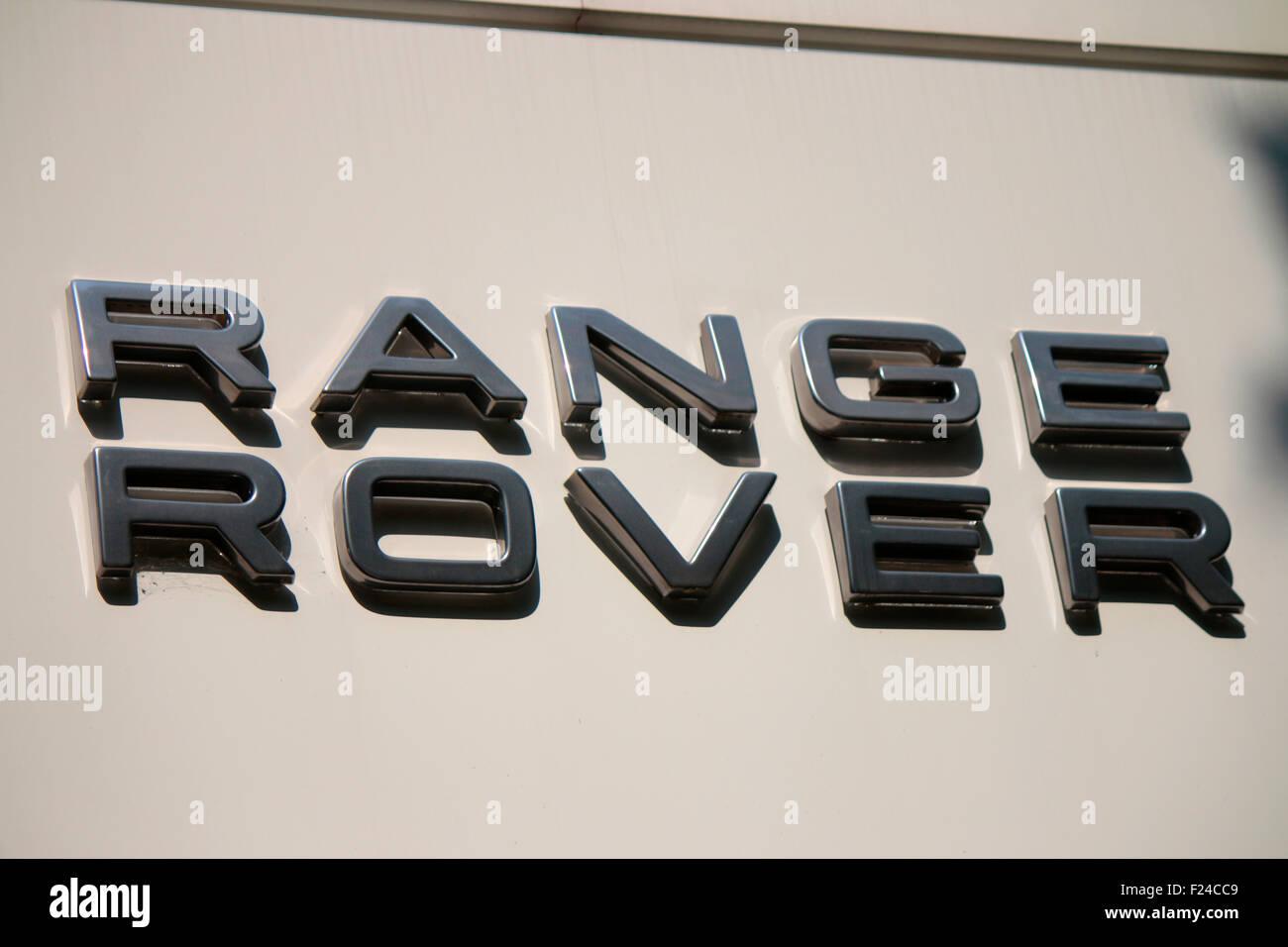 Markennamen: 'Range Rover', Berlin. - Stock Image